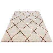 hoogpolig vloerkleed, »feel«, mint rugs, rechthoekig, hoogte 35 mm, machinaal geweven bruin