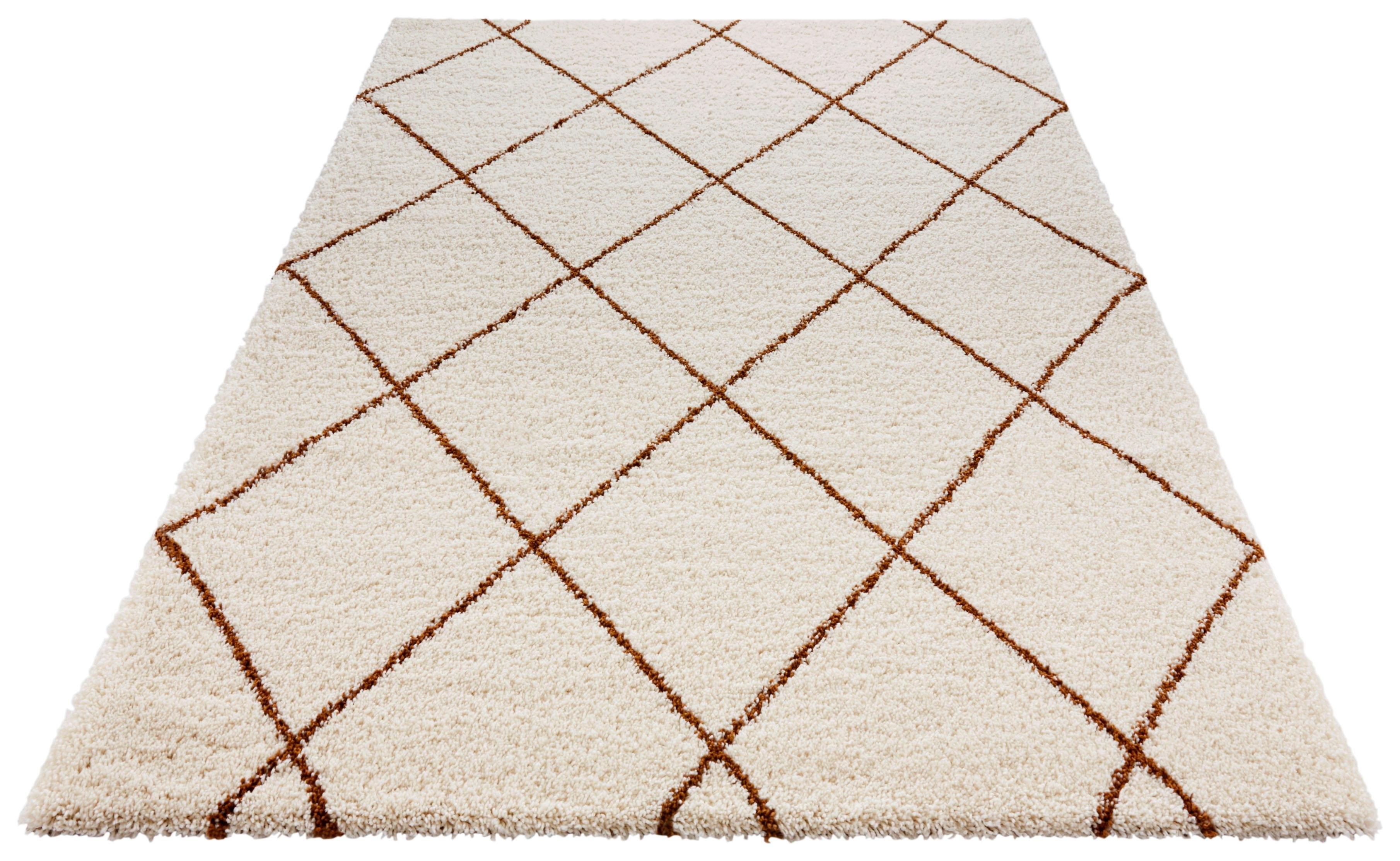 MINT RUGS Hoogpolig vloerkleed, »Feel«, rechthoekig, hoogte 35 mm, machinaal geweven bestellen: 30 dagen bedenktijd