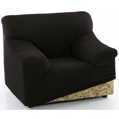sofaskins fauteuilhoes »niagara«, sofaskins zwart