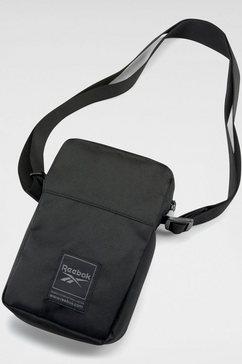reebok schoudertas »wor city bag« zwart