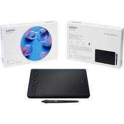 wacom »intuos pro m pen« tablet zwart