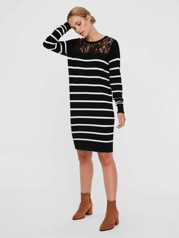 VERO MODA kanten jurk »VMLACOLE« nu online kopen bij OTTO