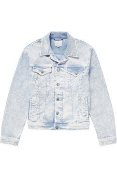 pepe jeans jeansjack »rose acid« blauw