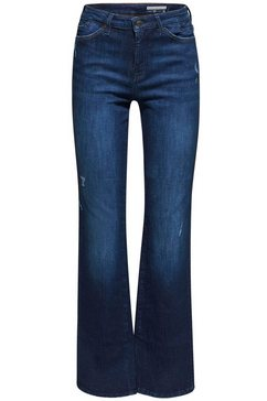 edc by esprit bootcut jeans blauw
