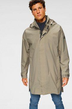 adidas performance functionele parka »urban parka rain ready« beige