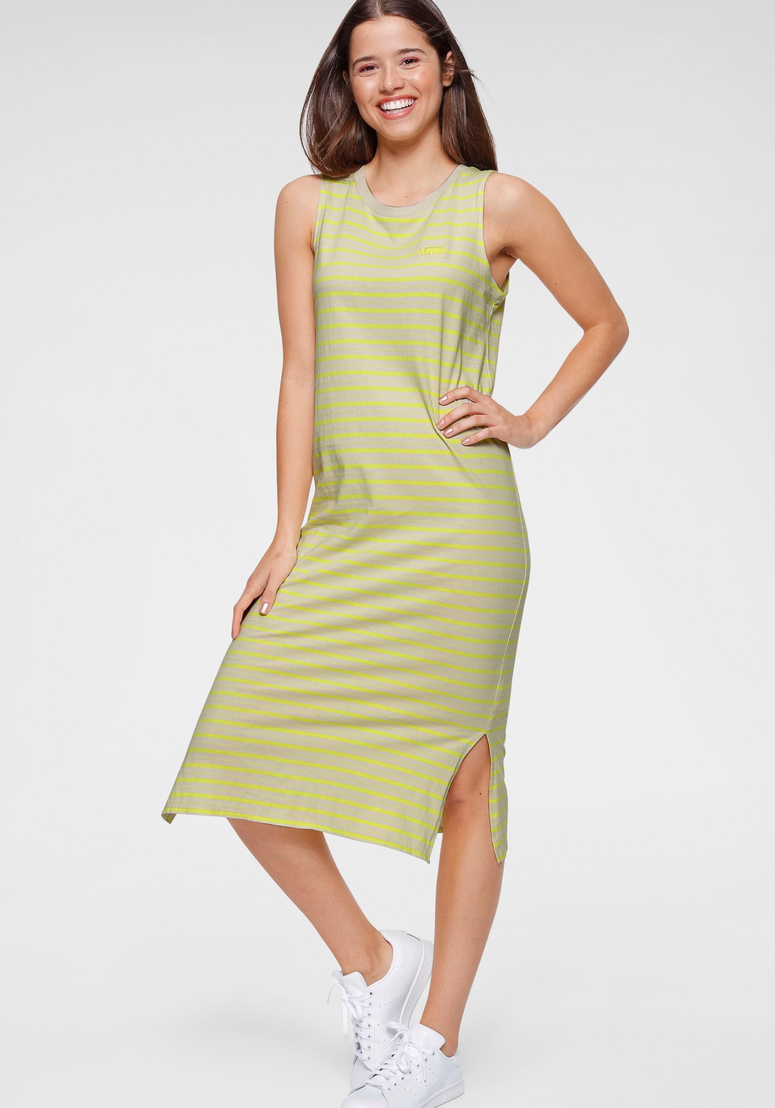 Vans Jerseyjurk Mini Check Midi Dress Snel Gevonden - Geweldige Prijs