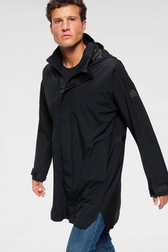 adidas performance functionele parka »urban parka rain ready« zwart