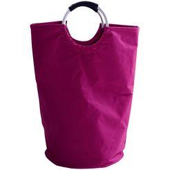 wasmand »coloré« roze