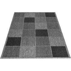 outdoorkleed, »kaspar«, delavita, rechthoekig, hoogte 5 mm, machinaal geweven zilver