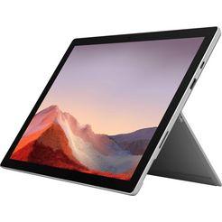 microsoft »surface pro 7 - 16gb - 1tb i7 platin« convertible notebook grijs