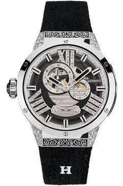 haemmer germany automatisch horloge »magical, gl-100« zwart