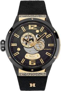 haemmer germany automatisch horloge »greatness, gg-500« zwart