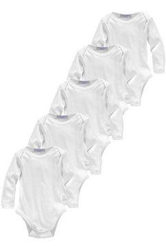 klitzeklein body met lange mouwen wit