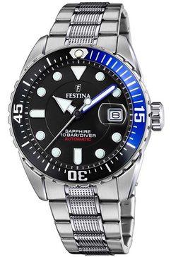 festina automatisch horloge »automatik, f20480-3« zilver