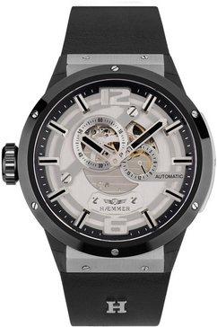 haemmer germany automatisch horloge »genius, gg-300« zwart