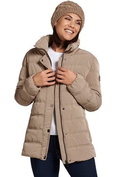 wega modieus jasje in een gezellige en warme gewatteerde kwaliteit beige
