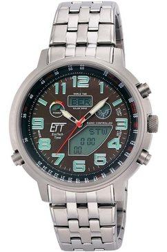 ett multifunctioneel radiografisch horloge »hunter ii, egs-11374-50m« zilver