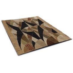 oosters tapijt, »chiya tiama 4«, die hauskunst, rechthoekig, hoogte 4 mm, met de hand geweven beige