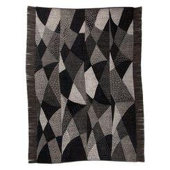 oosters tapijt, »chiya tiama 1«, die hauskunst, rechthoekig, hoogte 4 mm, met de hand geweven grijs