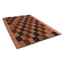 oosters tapijt, »tulon«, die hauskunst, rechthoekig, hoogte 4 mm, met de hand geweven bruin