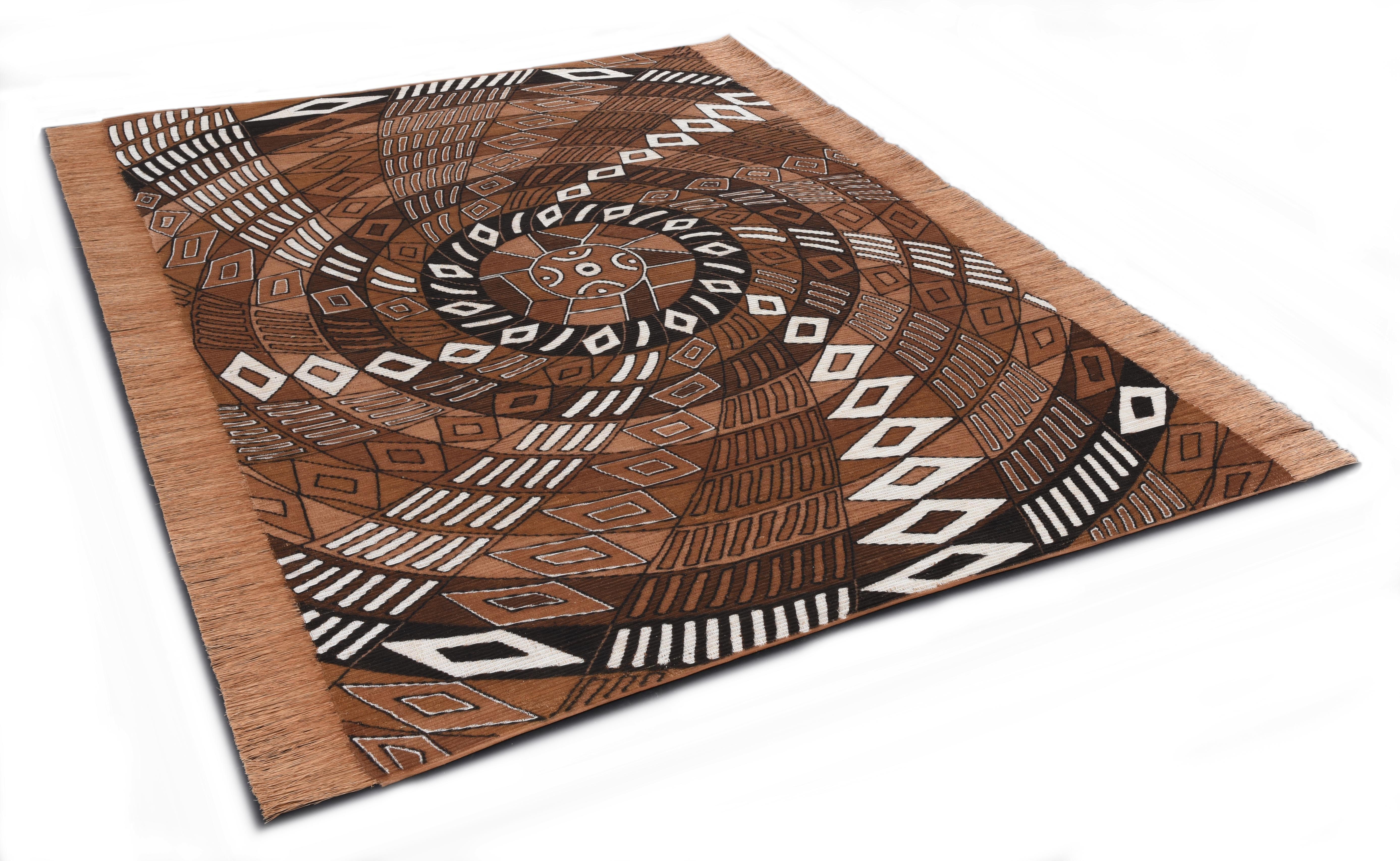 DIE HAUSKUNST Oosters tapijt, »Funun Funun«, rechthoekig, hoogte 4 mm, met de hand geweven - gratis ruilen op otto.nl
