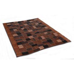 oosters tapijt, »niyoncondon«, die hauskunst, rechthoekig, hoogte 4 mm, met de hand geweven bruin