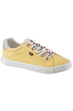 tom tailor sneakers geel