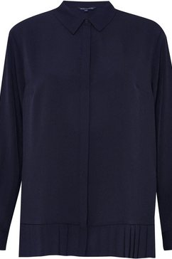 french connection klassieke blouse blauw