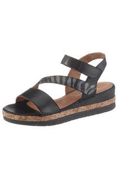 remonte sandalen met zacht voetbed zwart