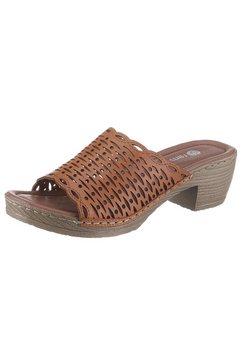 remonte slippers bruin