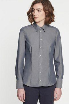 seidensticker klassieke blouse grijs