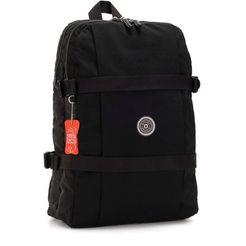 kipling laptoprugzak »tamiko, brave black« zwart