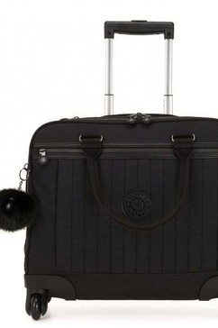 kipling laptoptas »netsia, true dazz black« zwart