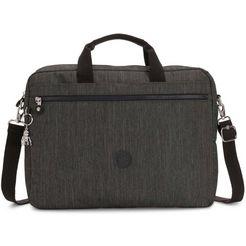 kipling laptoptas »kerris, black indigo« grijs