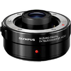 olympus »mc-20« teleconverter zwart