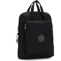 kipling laptoprugzak »kazuki, rich black« zwart