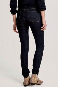 opus skinny jeans »elma« blauw