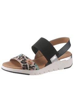 caprice sandalen zwart