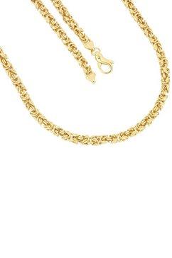 firetti ketting zonder hanger met koningsschakels, 5,0 mm, glanzend, verguld, vierkant goud