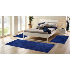 home affaire set slaapkamerkleedjes viva geweven blauw