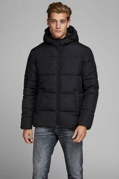 jack  jones gewatteerd jack »knight puffer jacket« zwart