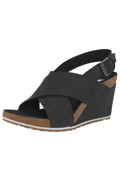 timberland sandalen »capri sunset x-band sanda« zwart