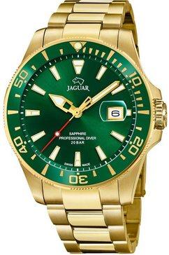 jaguar zwitsers horloge »executive, j877-2« goud