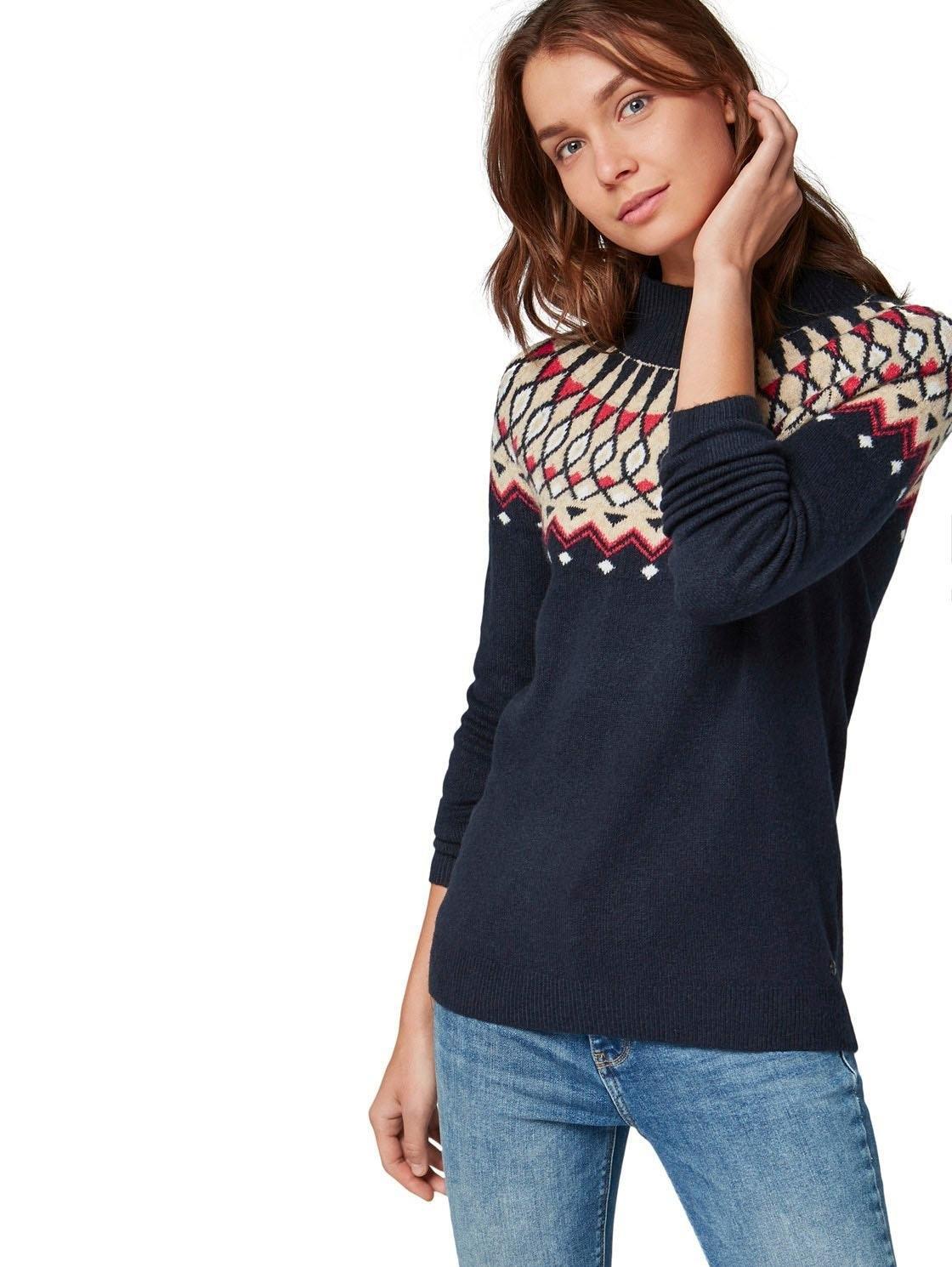TOM TAILOR noorse trui voordelig en veilig online kopen