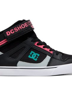 dc shoes hoge schoenen »pure ev« zwart
