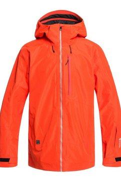quiksilver shell snowboardjack »forever 2l gore-tex« oranje