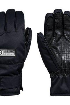dc shoes ski-snowboard handschoenen »franchise« zwart