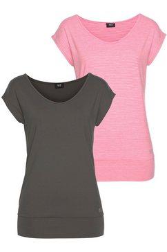 h.i.s functioneel shirt (set van 2) grijs