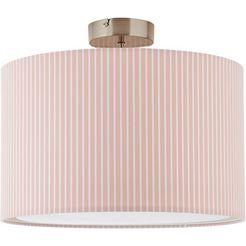luettenhuett plafondlamp »clarie«, roze