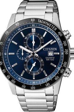 citizen chronograaf »an3600-59l« zilver